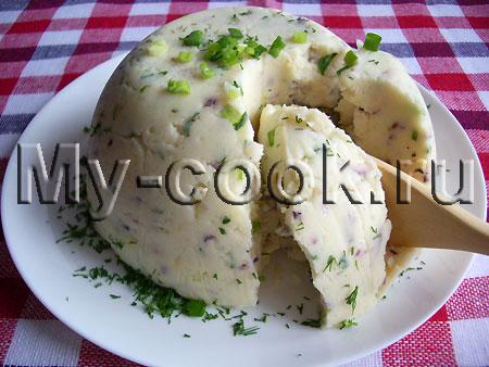 Закуска из картофеля по - Баварски