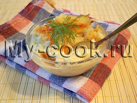 Пудинг из цветной капусты или кабачков
