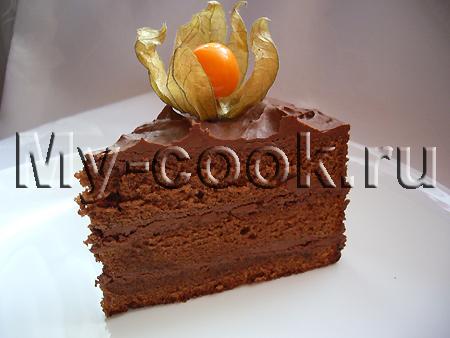 Шоколадный торт Эйфория