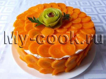 Салат - торт «Сельдь под шубой»
