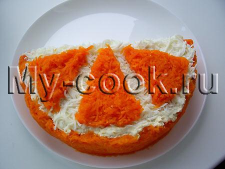 Салат Долька апельсина. Мой вариант