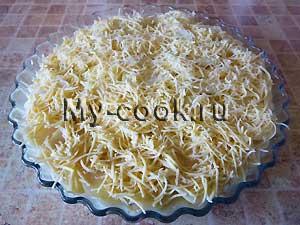Картофель Дофин, запечённый под сыром
