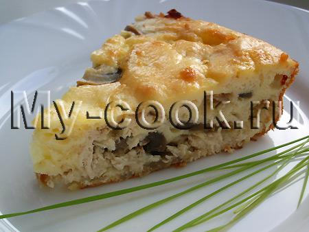 Быстрый закусочный пирог