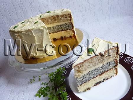 Торт 3 вкуса