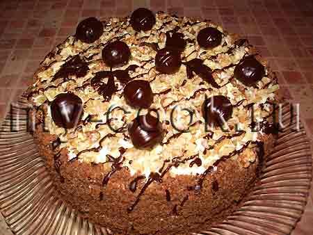 торт рецепты с фото на рождество