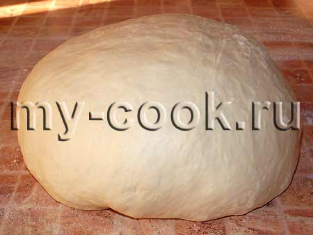 Тесто для хлеба Фокачча
