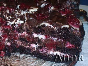 торт вишневый сад рецепт