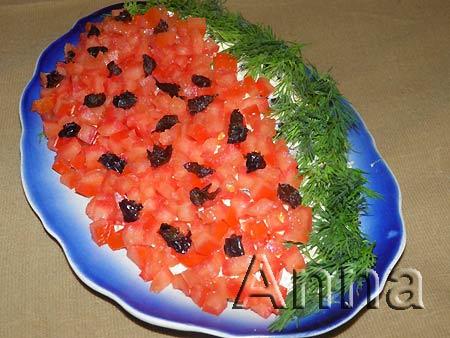 салат из белых свежих грибов рецепт #11