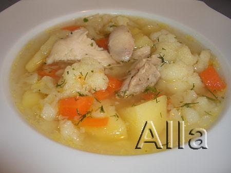 Рецепт приготовления фасолевого супа на мясном бульоне